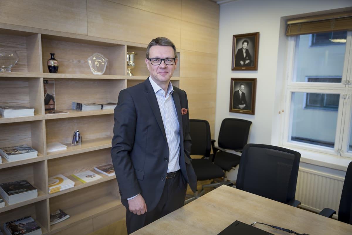 Matkailu- ja ravintolapalvelut MaRan toimitusjohtaja Timo Lappi.