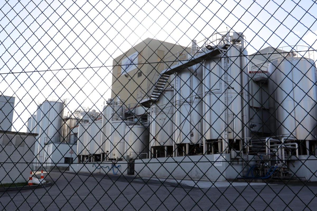 Lactalis-yhtiön tehdas Craonissa Ranskassa.