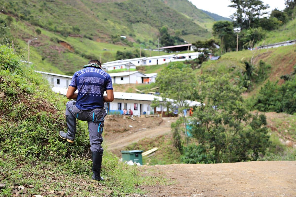 näkymä kylään