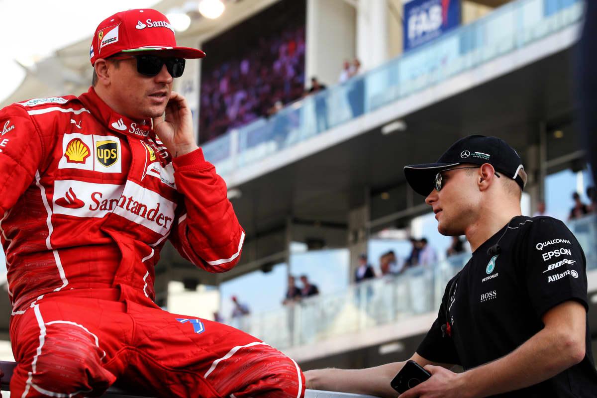 Kimi Räikkönen, Valtteri Bottas