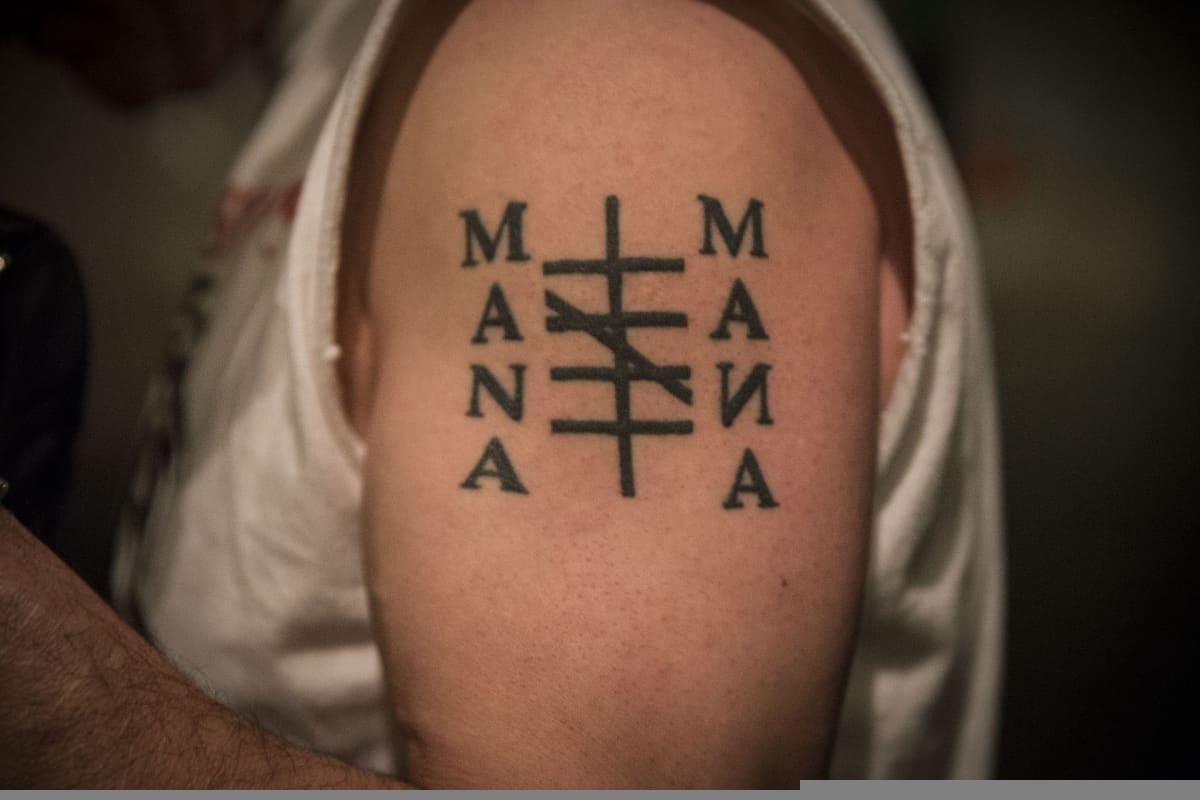 Mana Mana, tatuointi, Tuomas Moilanen