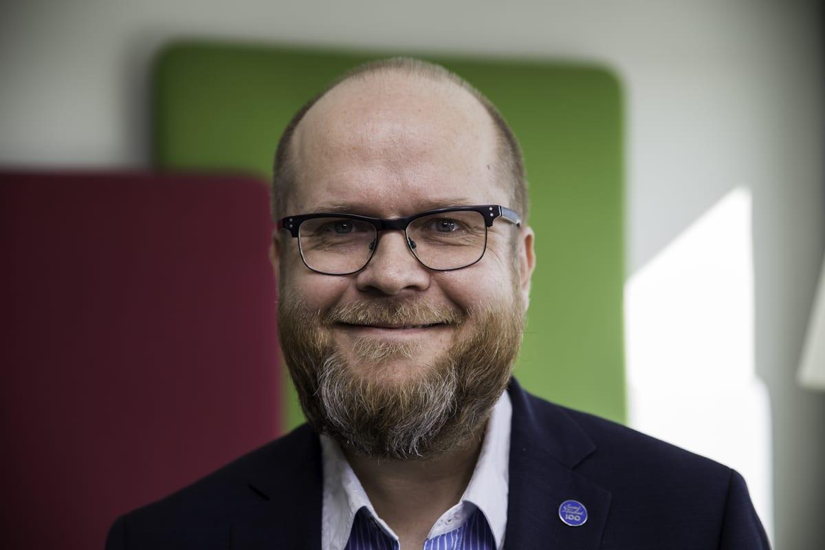 Askolan kunnanjohtaja Jouni Martikainen