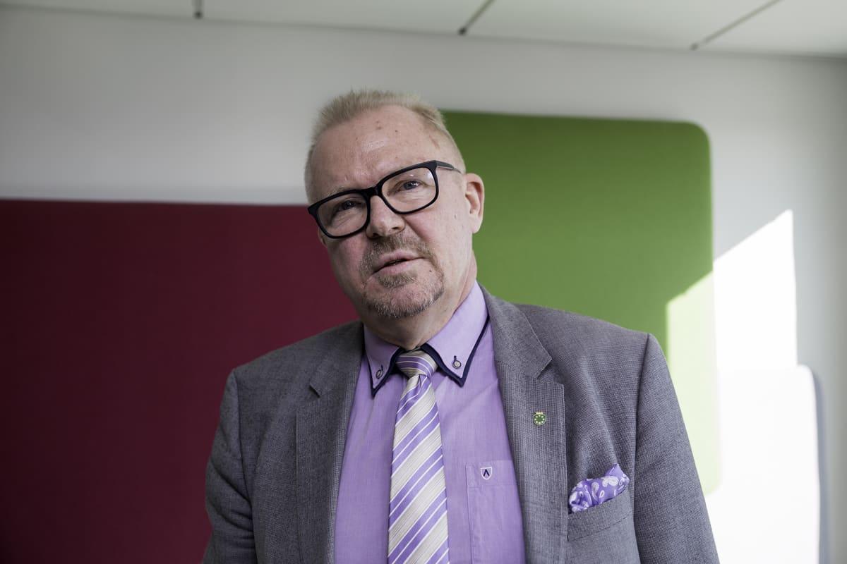 Raaseporin kaupunginjohtaja  Ragnar Lundqvist