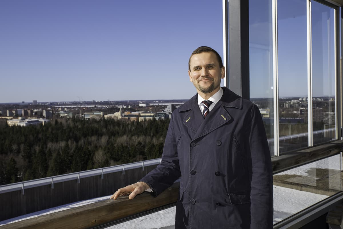 Timo Metsola hallituksen pj Vuokraturva oy