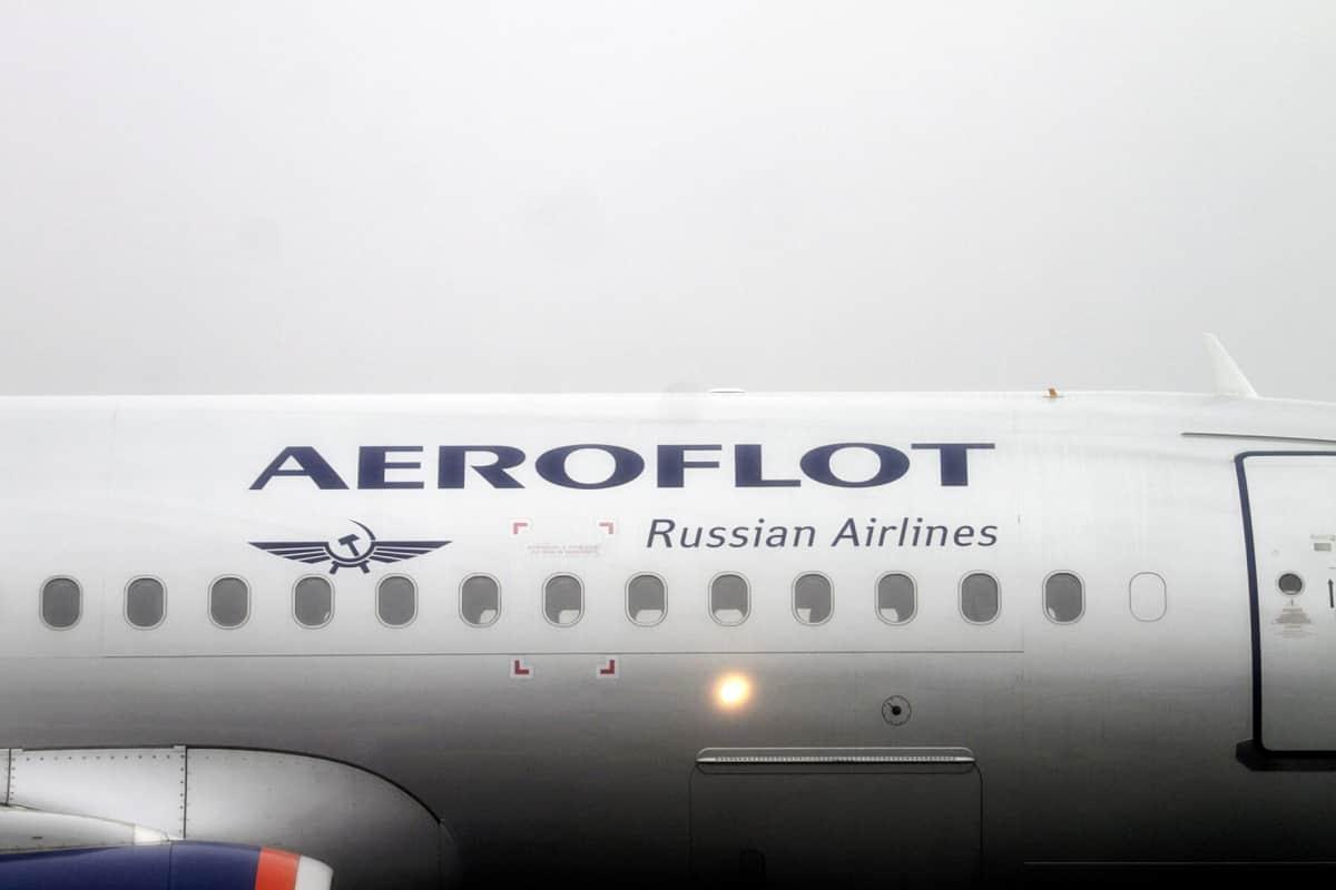 Aeroflotin lentokone