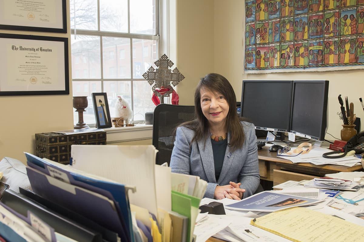 Apulaisprofessori Elena Delavega Memphisin yliopistosta on tutkinut  kaupungin köyhyyden syitä.