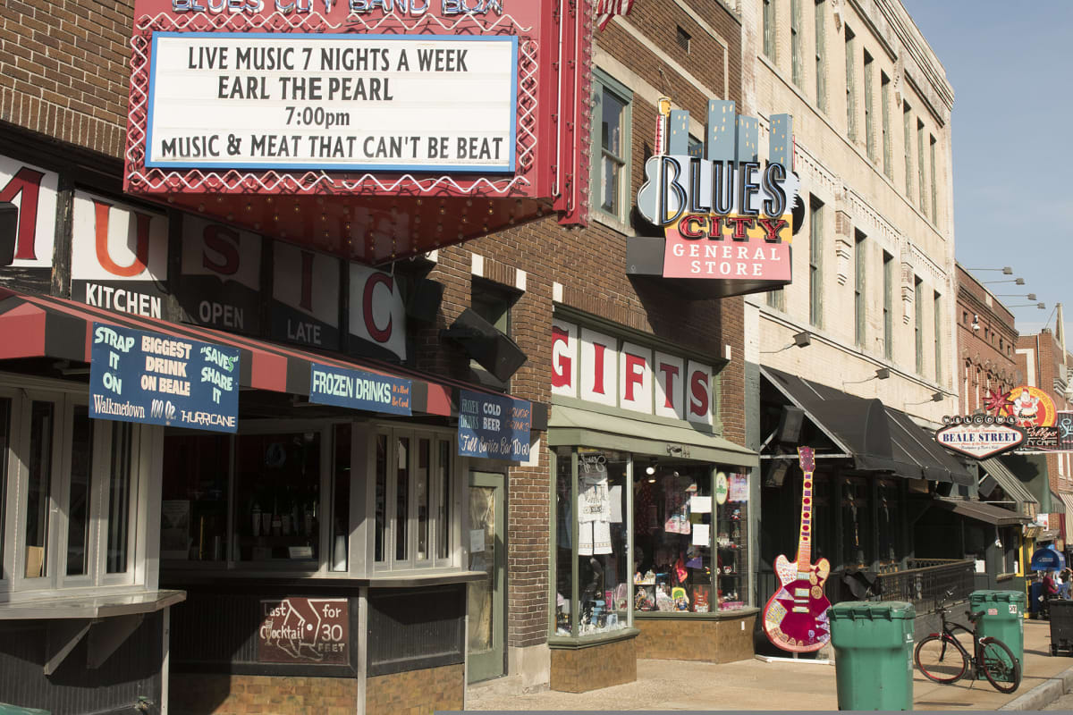 Memphis on tunnettu musiikkikaupunki, jossa tuloerot ovat suuria.