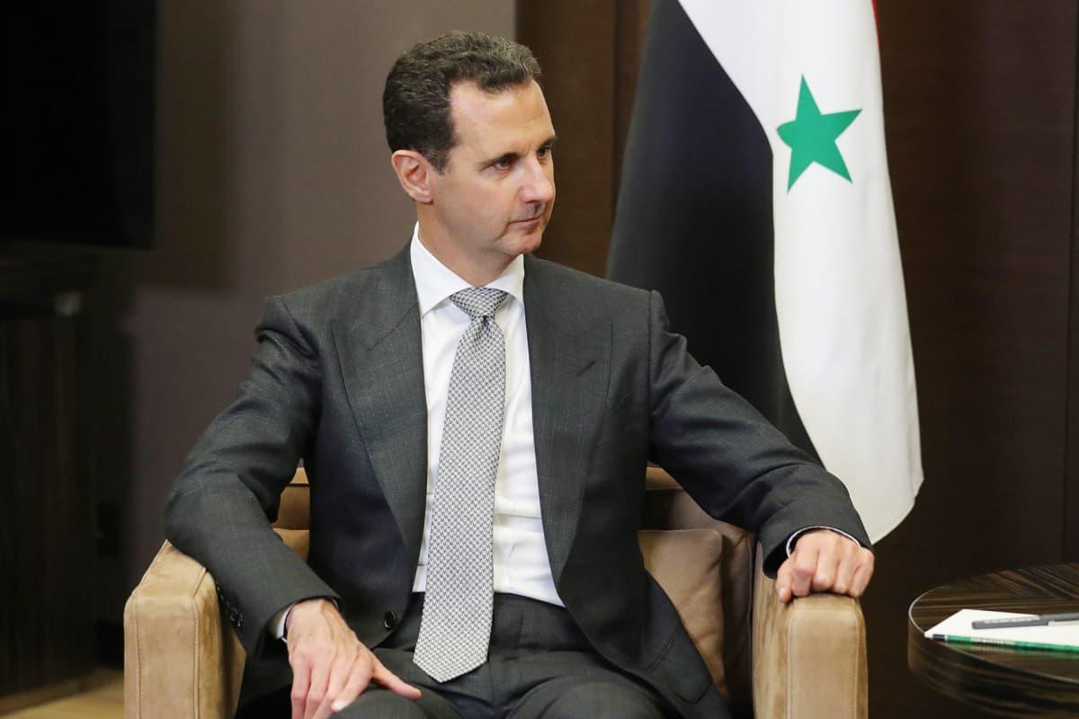 Bashar al-Assad, Syyrian presidentti.