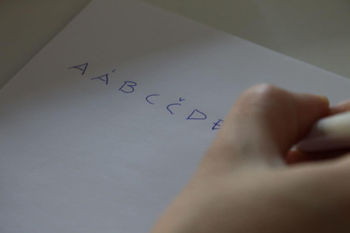 PISA, tutkimus, aakkoset, kirjaimet, saame, pohjoissaame, kirjoitus, koe, iskkus