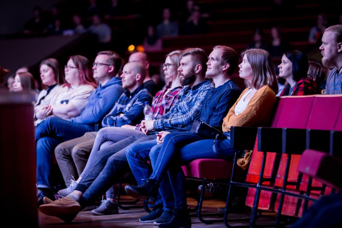 Yleisöä, Helsinki Game Music Festival