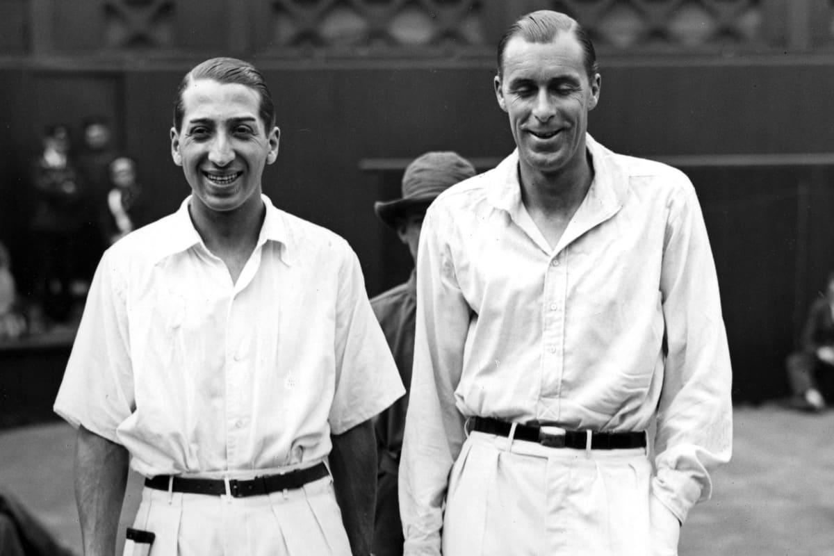 William Deeds ja  René Lacoste