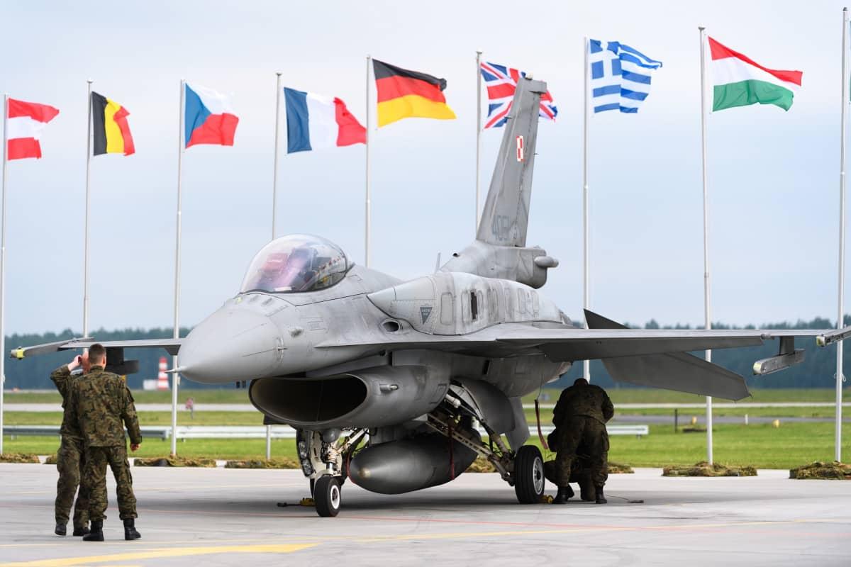 Natolla oli Tiger Meet -harjoitus Puolassa 18. toukokuuta.