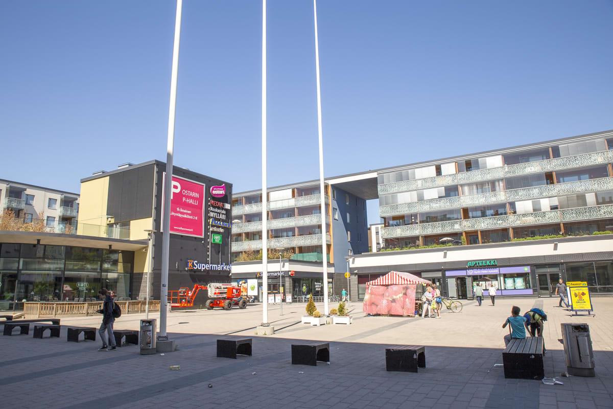 Myllypuron ostoskeskus.