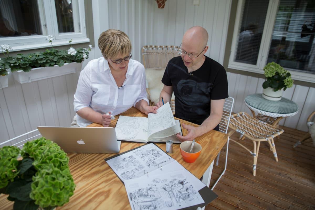 Aino Havukainen ja Sami Toivonen
