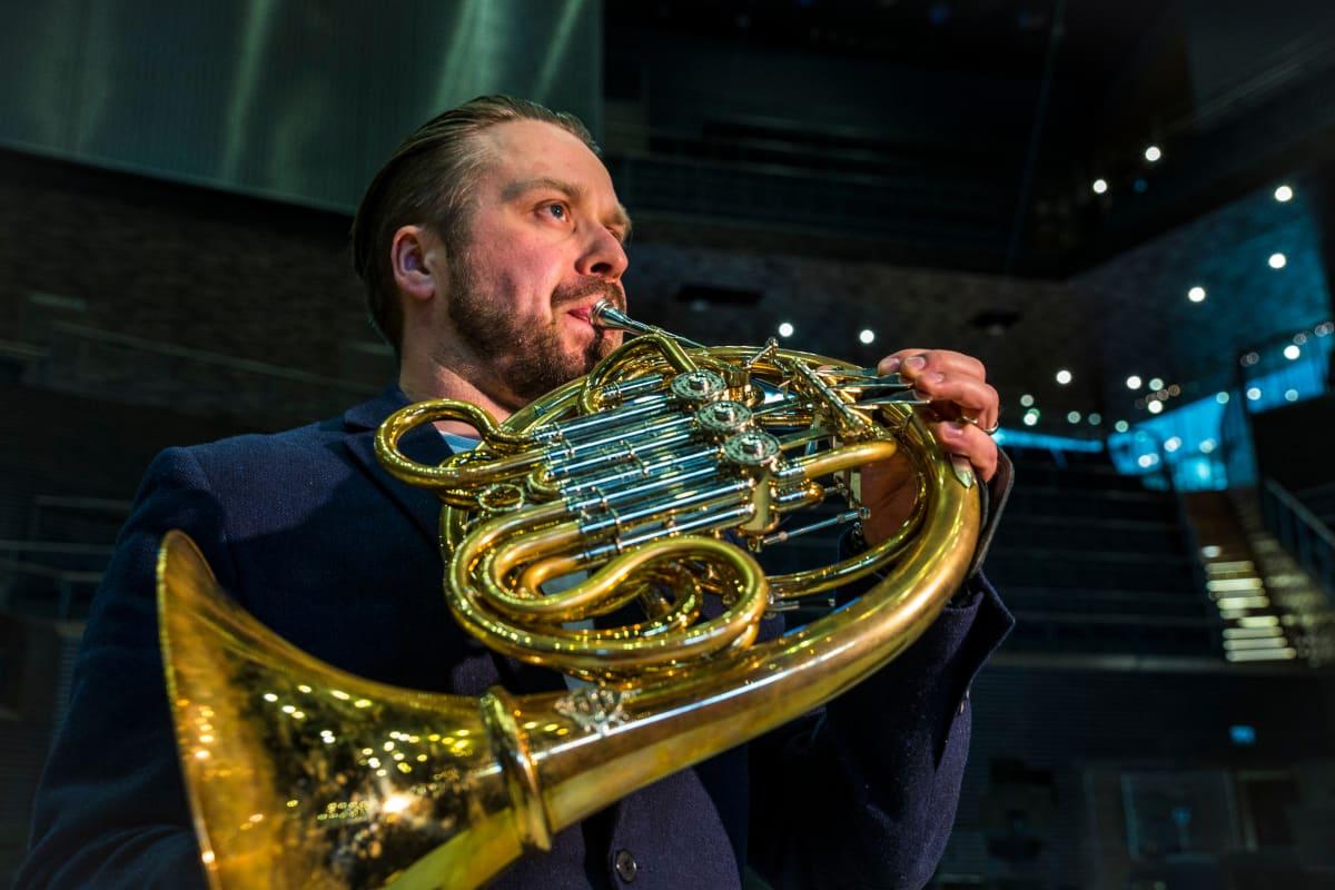 Tommi Hyytinen, käyrätorvi, RSO