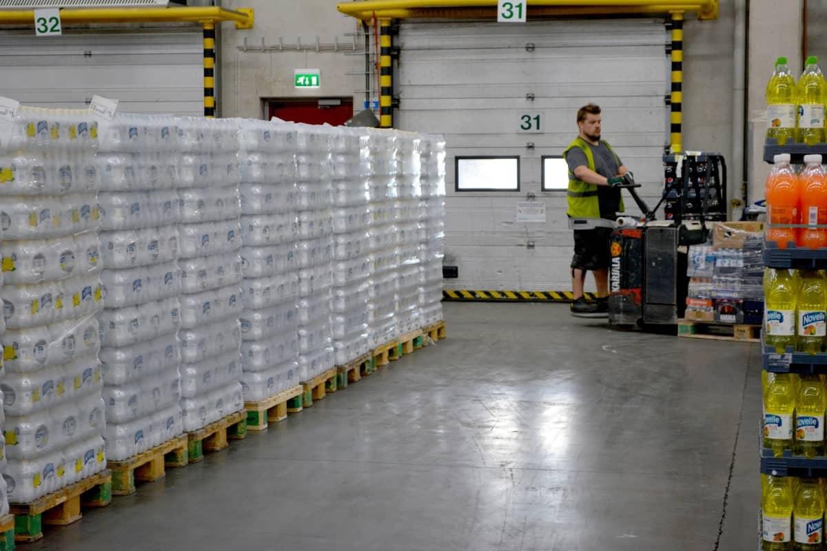 Hartwallin tehtaalla kesällä 2018