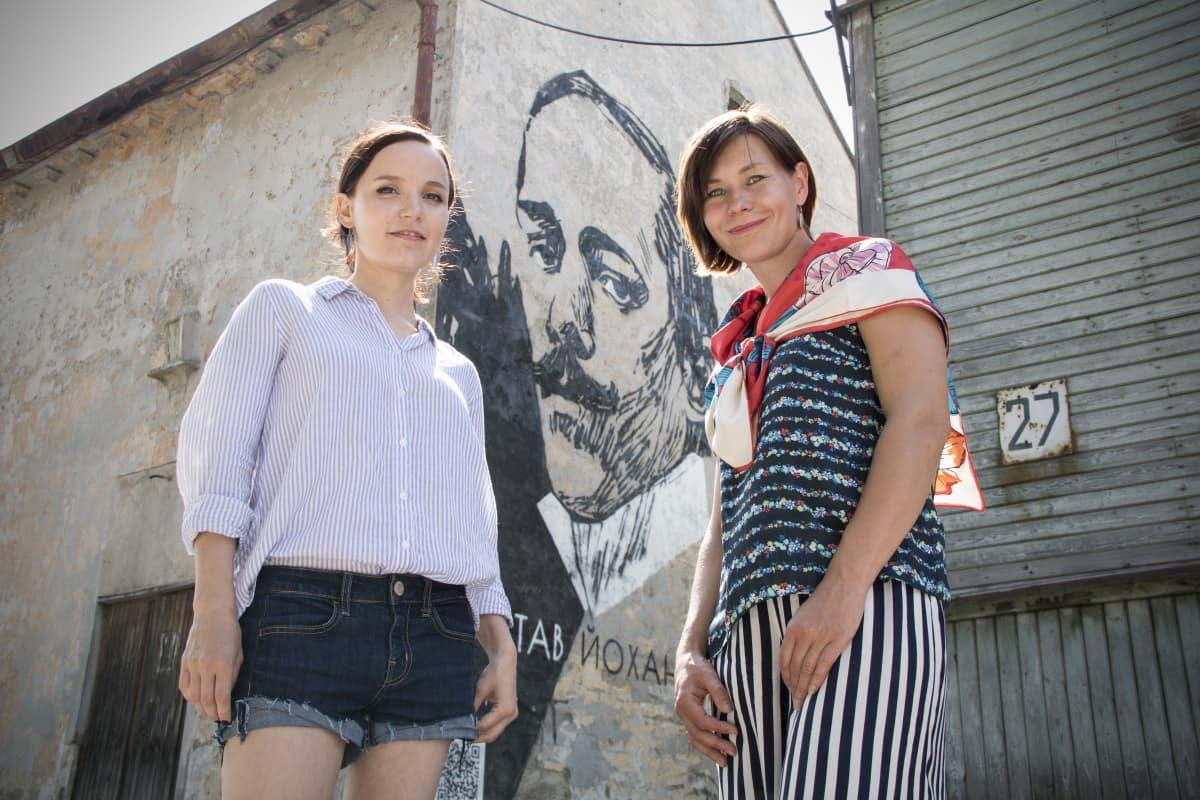Olga Kvashina ja Jekaterina Kulijeva.