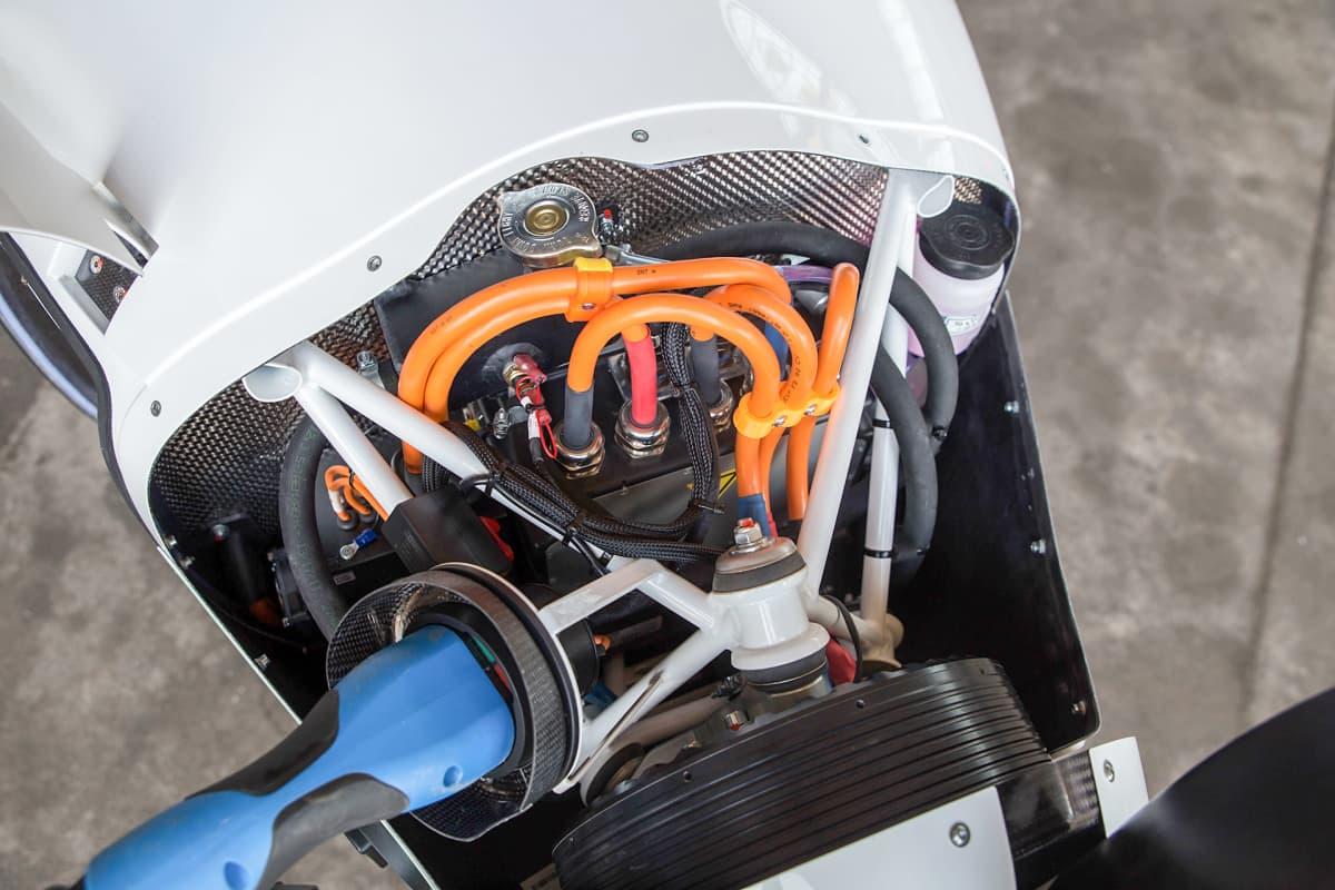 Sähkölentokoneen moottori