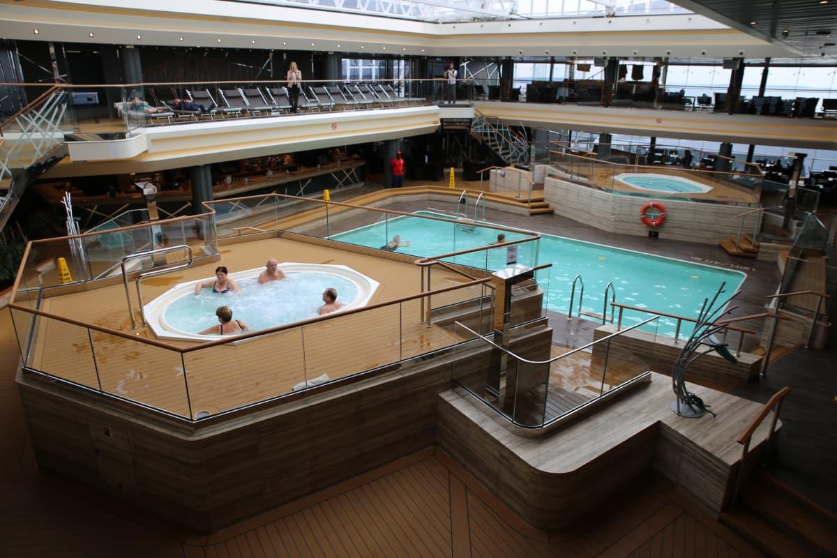 MSC Meraviglian kylpylä.