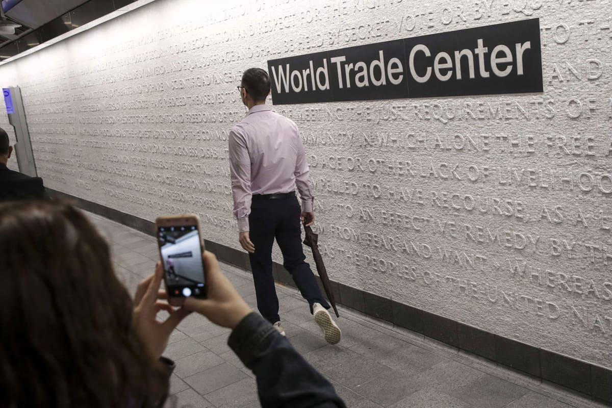 Cortland Streetin metroasema New Yorkissa.