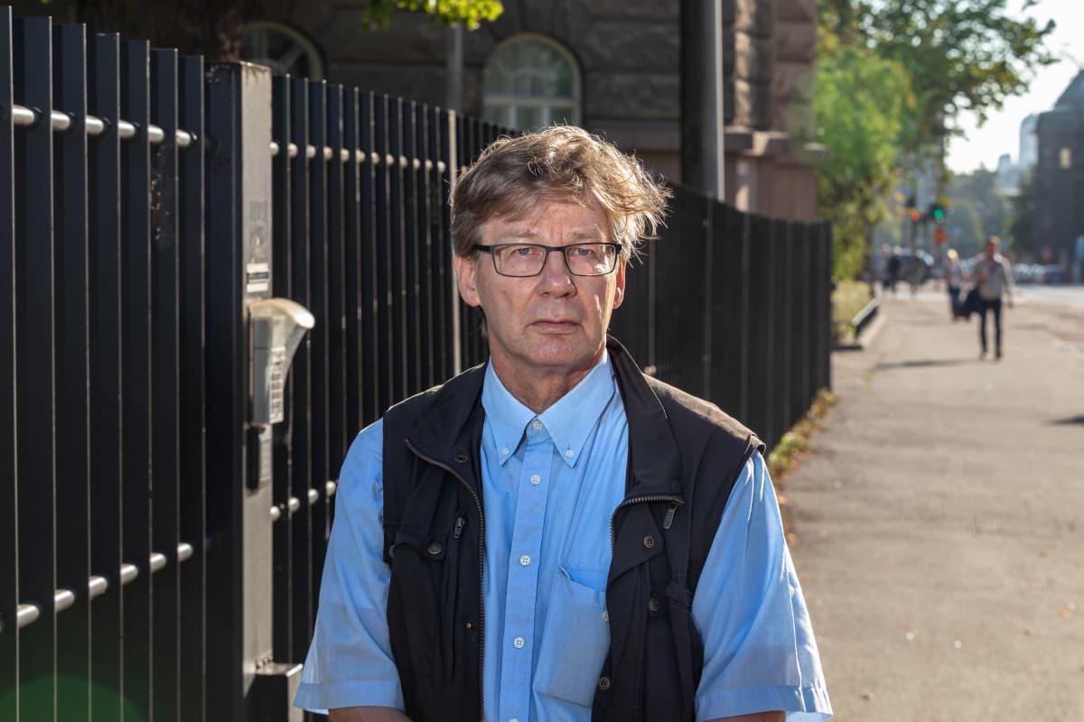 Taloustieteen professori Pertti Haaparanta.