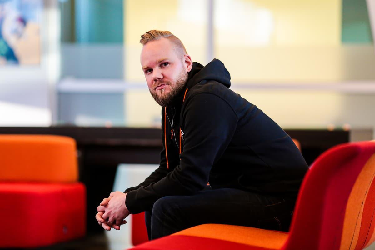 Nitro Gamesin toimitusjohtaja Jussi Tähtinen