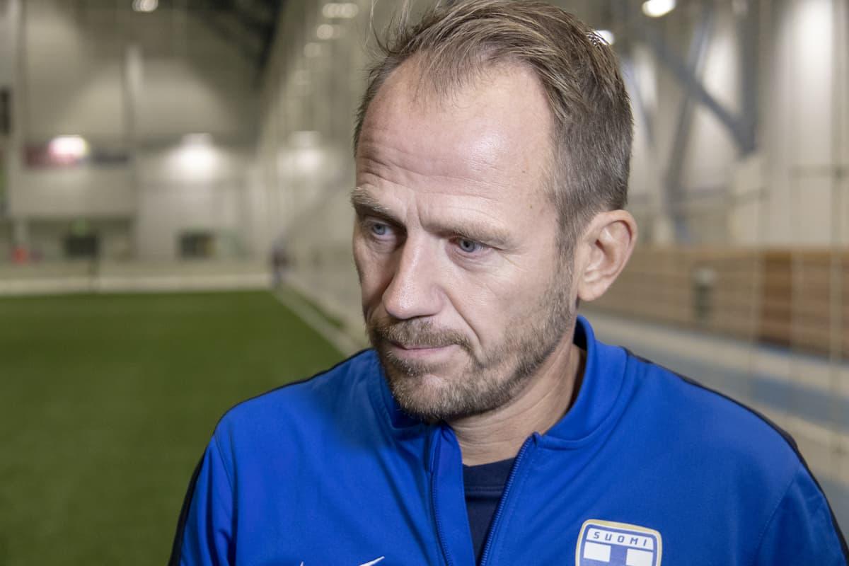 Suomen Palloliitton Pohjois-Suomen piirin piirijohtaja Esa Saajanto.