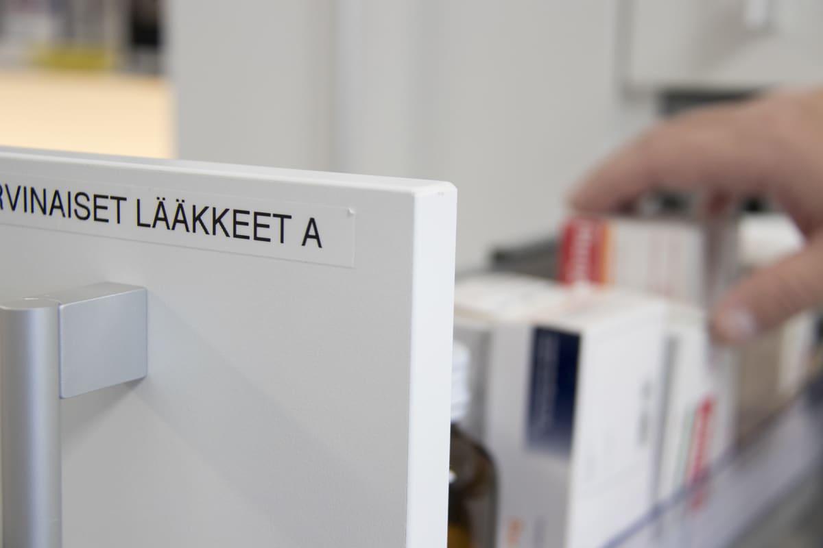 Harvinaisia lääkkeitä Oulun yliopistollisessa sairaalassa.