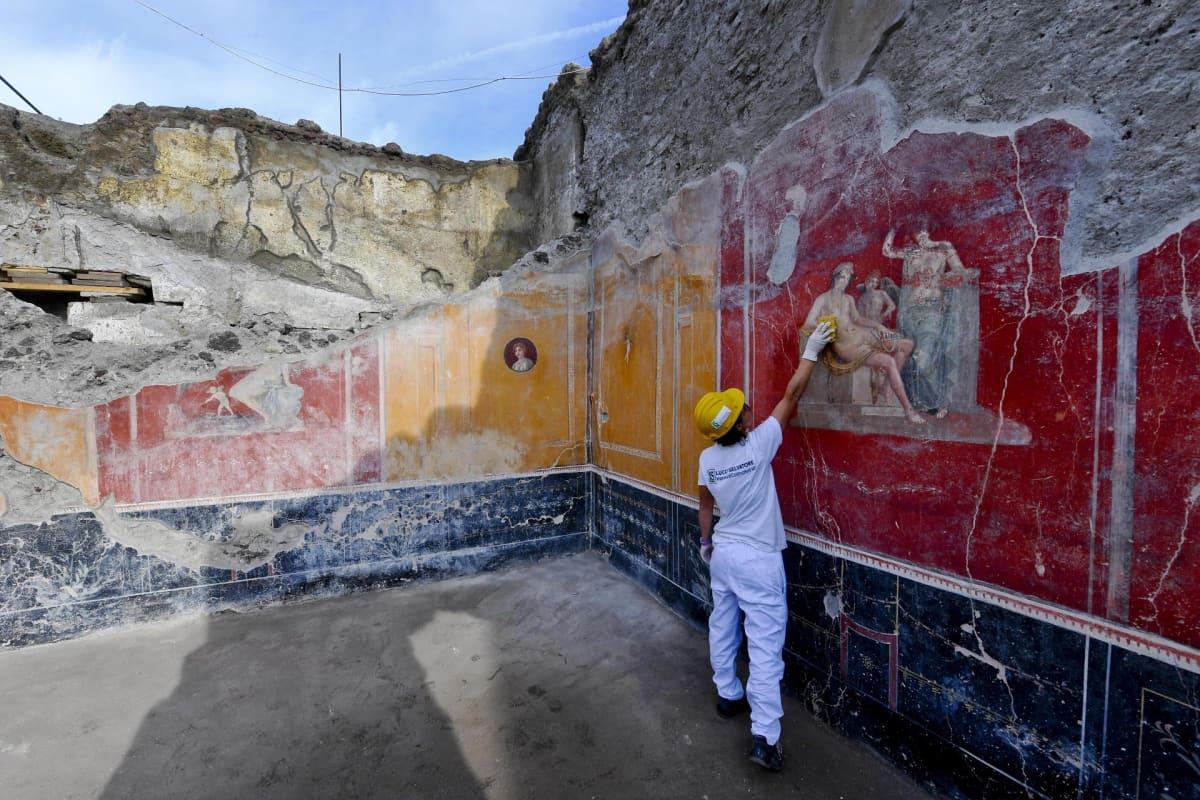 Tutkimuksia Pompeijissa