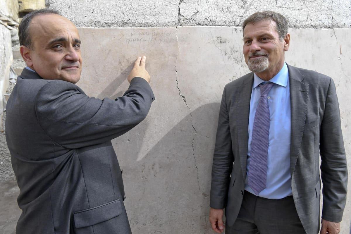 Alberto Bonisoli ja Massimo Osanna
