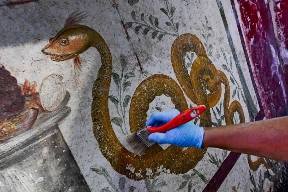 Fresko Pompeijissa