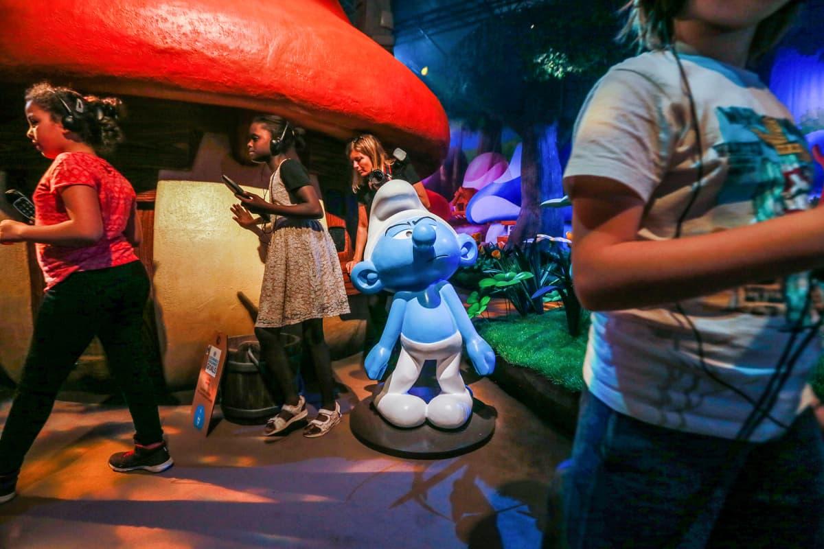Smurffi teemapuisto Brysselissä