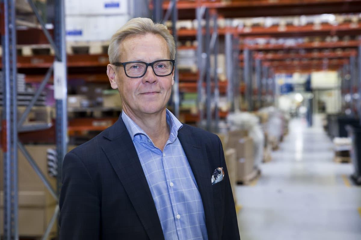 Risto Romppanen on Kirjavälitys Oy:n toimitusjohtaja.