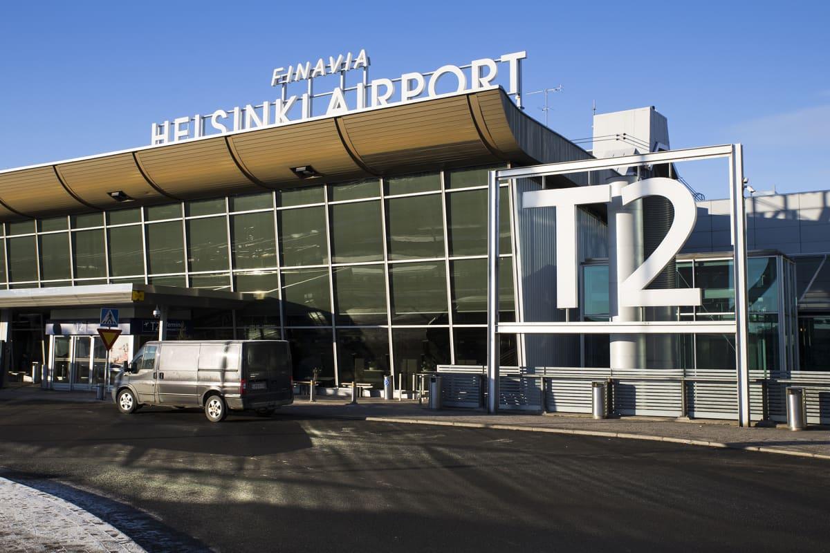 Helsinki-Vantaan lentoasemarakennus T2 terminaali