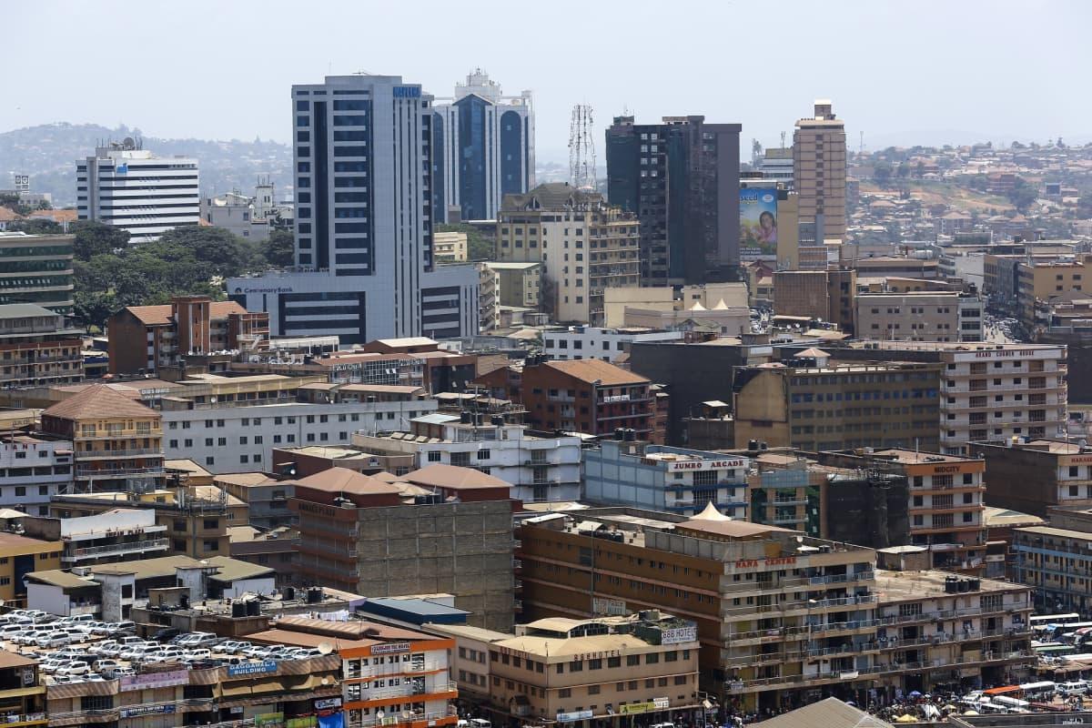 Ugandan pääkaupunki Kampala