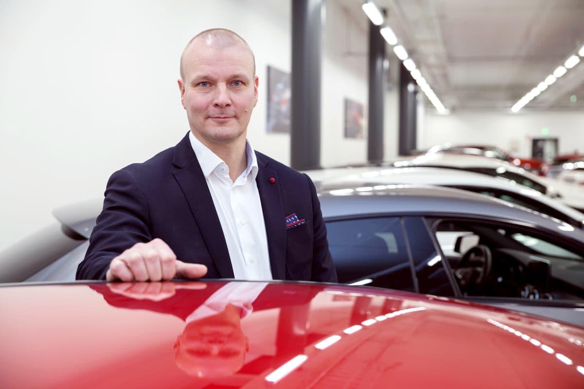 Veho, Mikko Koivunen, aluejohtaja