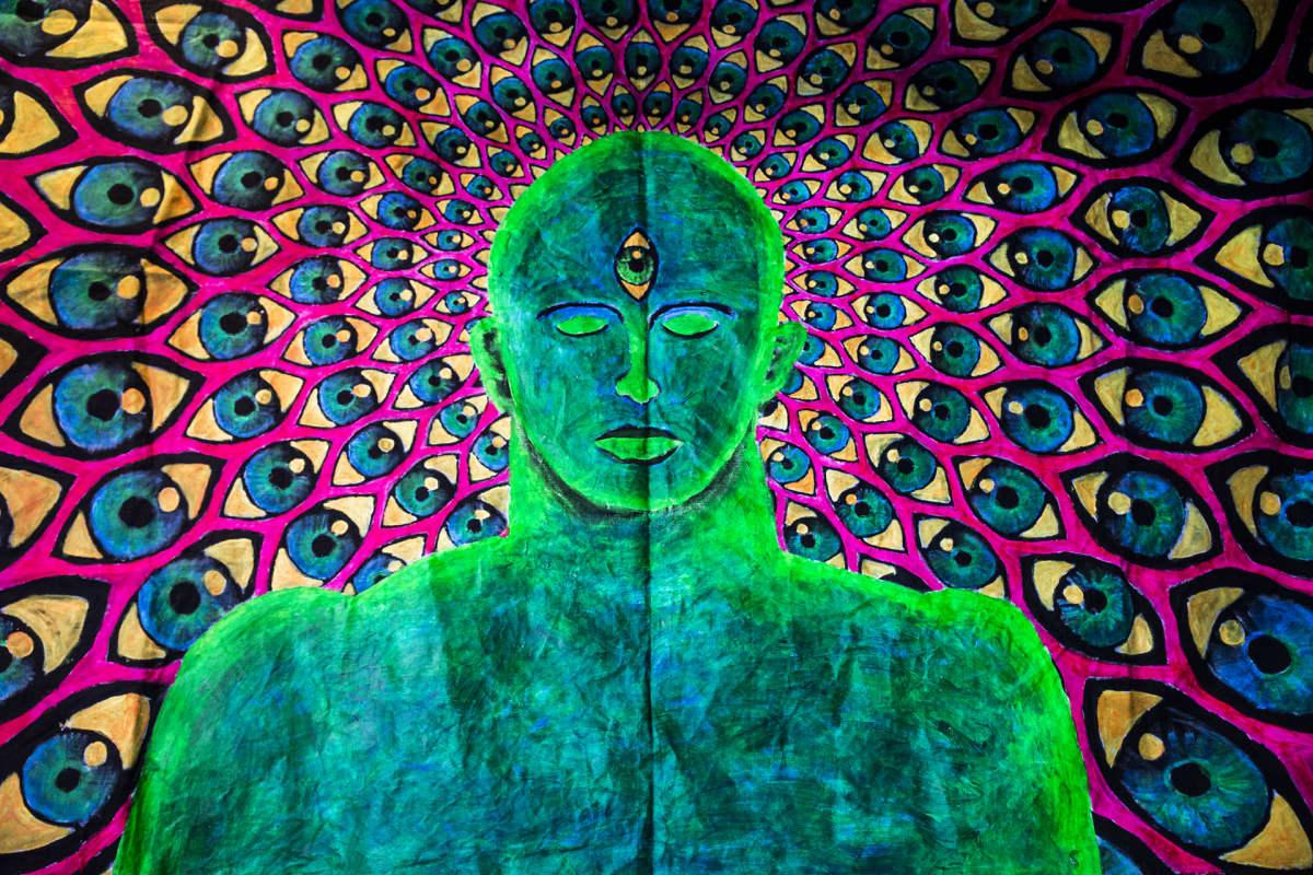 Vesa Peltonen, psykedeelinen taide