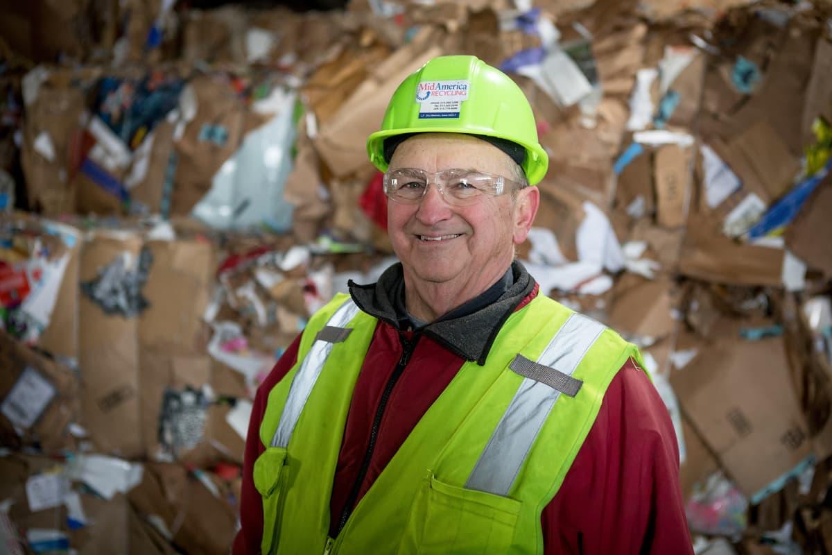 Mick Barry on ollut jätebisneksessä kolme vuosikymmentä, uran vaikein päätös oli viedä kierrätyspaperia kaatopaikalle neljän kuukauden ajan.