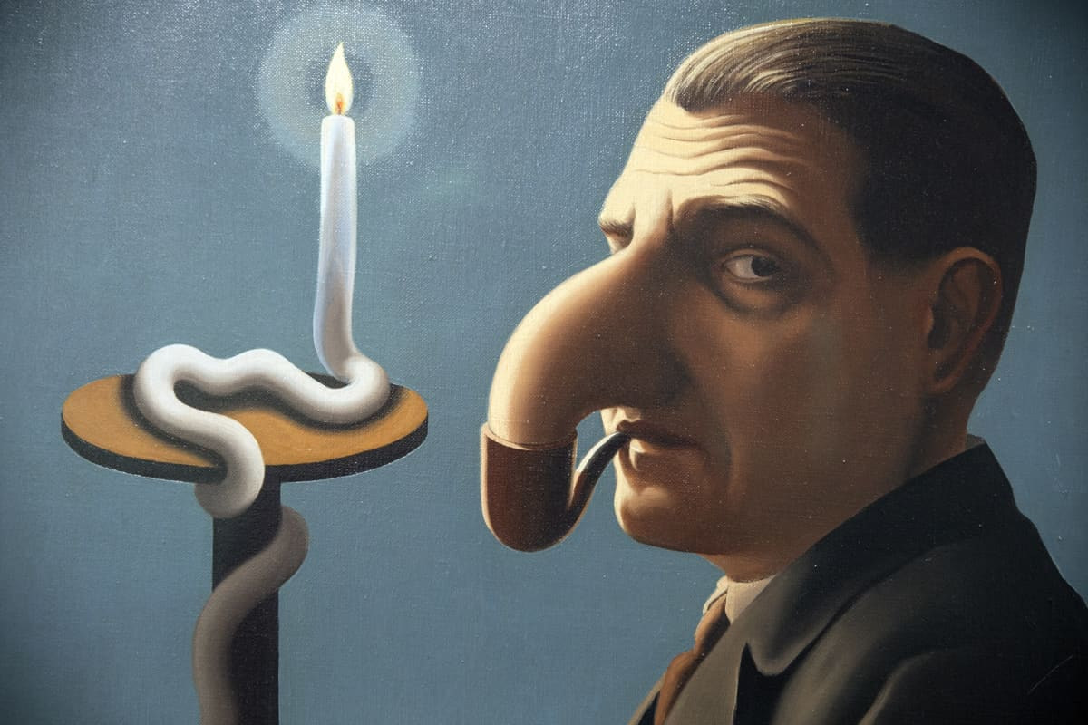 René Magritte, Filosofian valossa, 1936