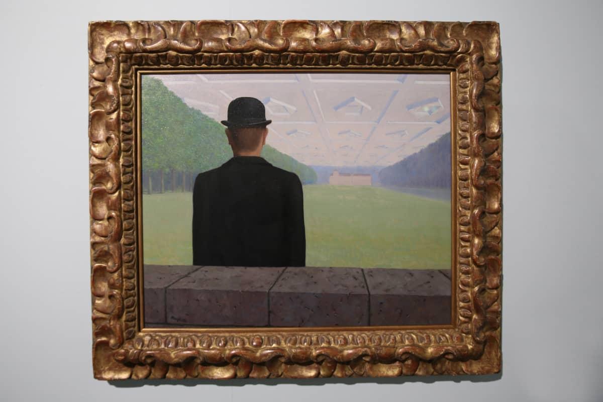 René Magritte, Suuri vuosisata, 1954, Amos Rex