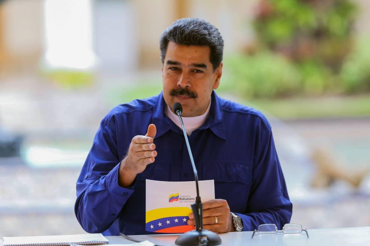 Venezuelan presidentti Nicolas Maduro.
