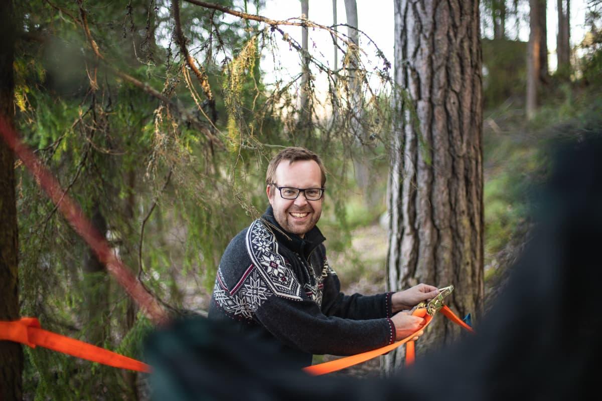 Retkeilypaikka-blogin perustaja Antti Huttunen