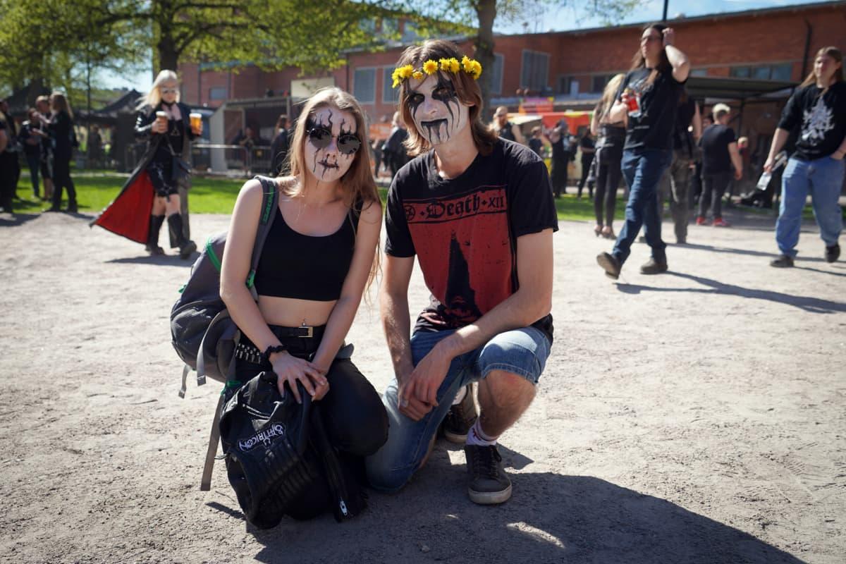 Emma Crosby, Tuomas Mylläri, Steelfest, black metal