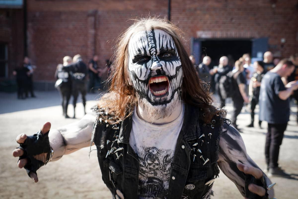 Monstrum, black metal, Steelfest