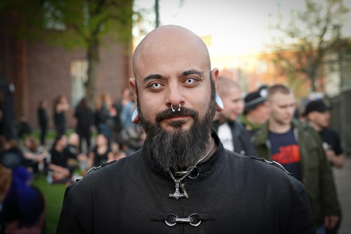 Andrew Rodriguez, Steelfest, black metal