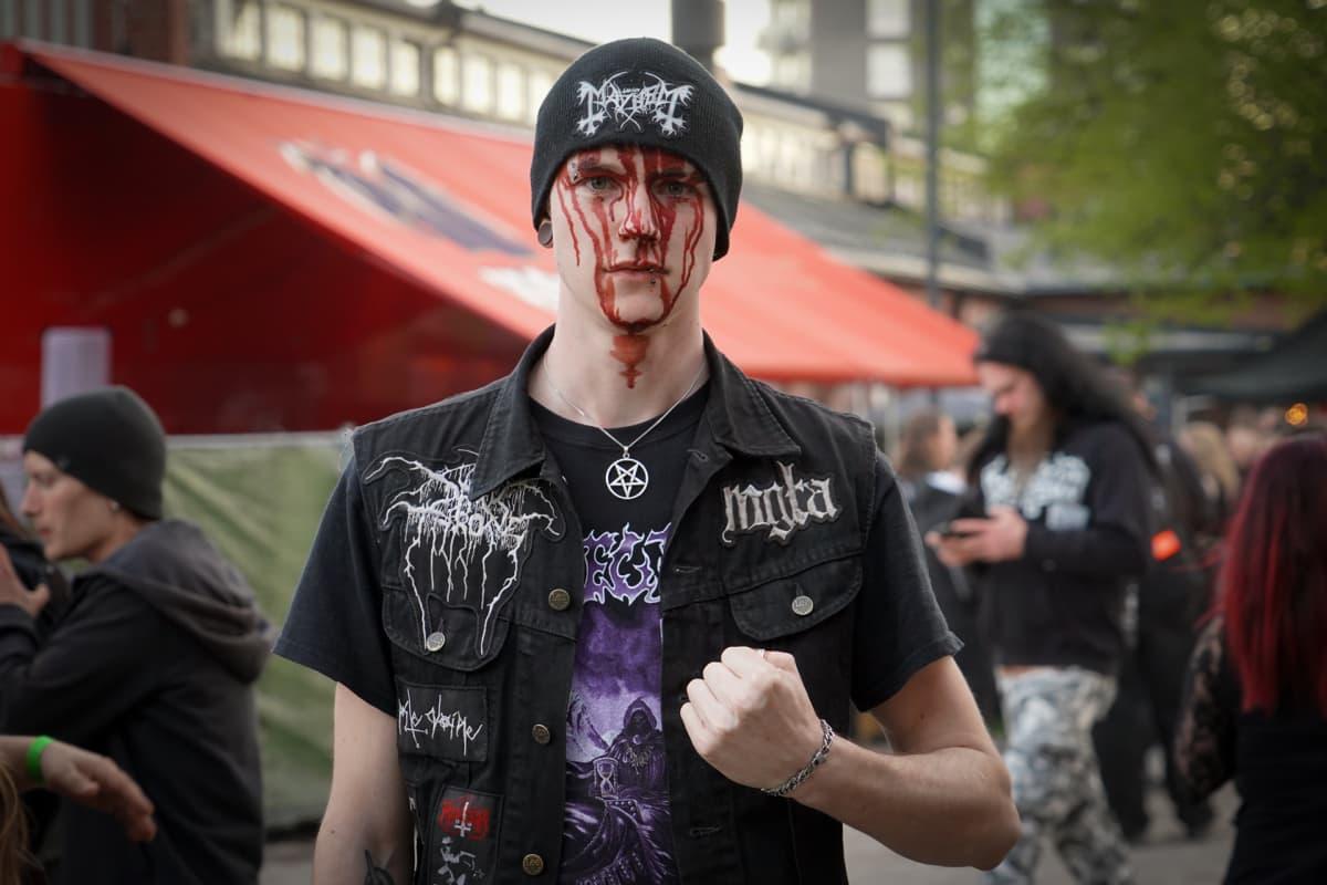Black metal, Steelfest, Robin Karlsson
