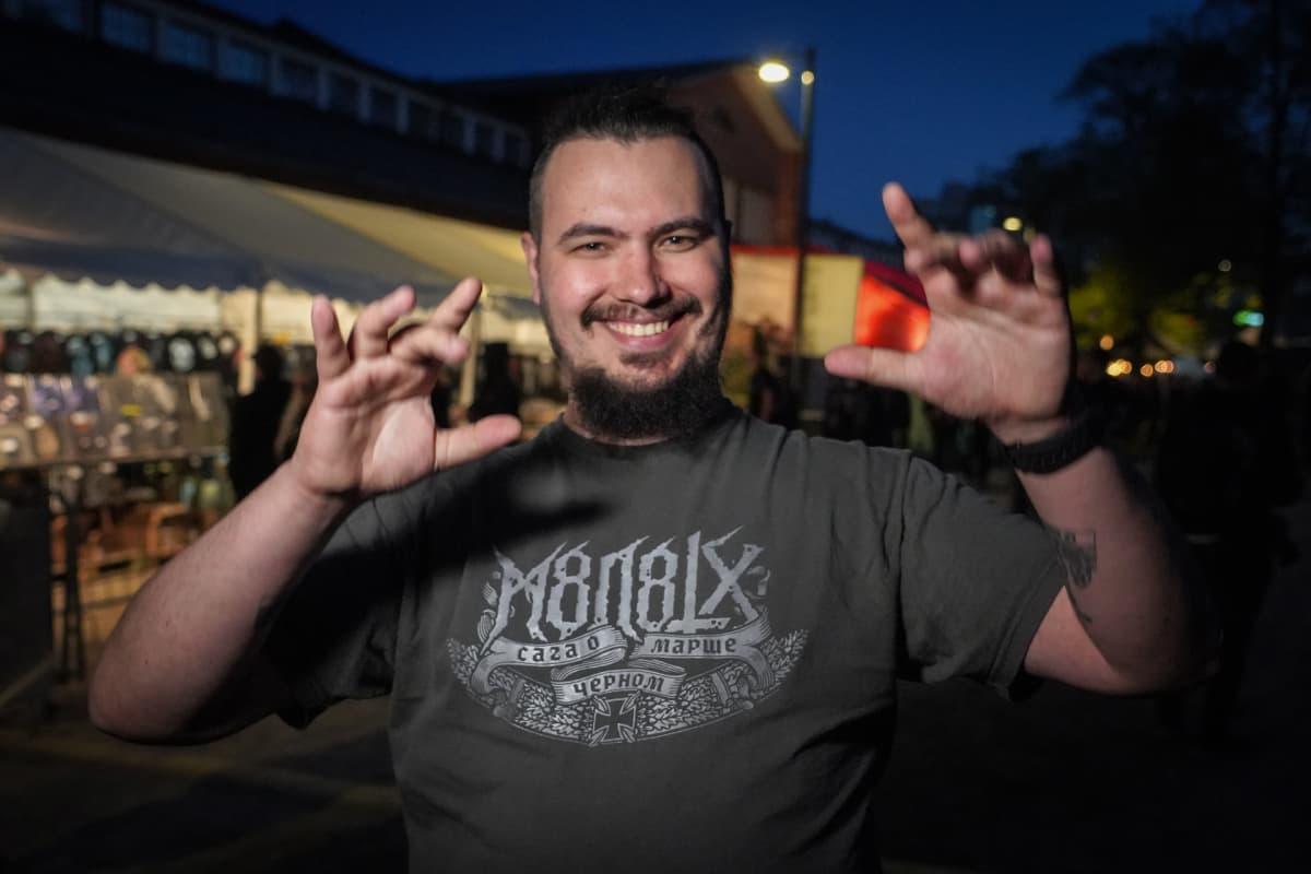 Vadim Baranov, Steelfest, black metal