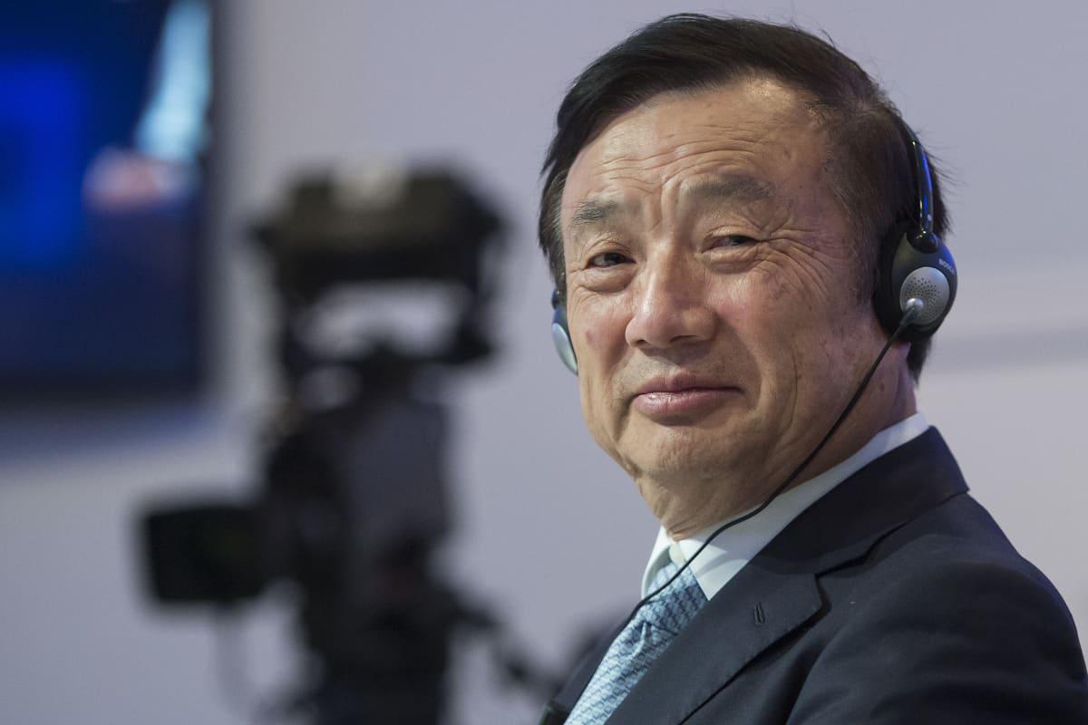 Huawein perustaja ja toimitusjohtaja Ren Zhengfei.
