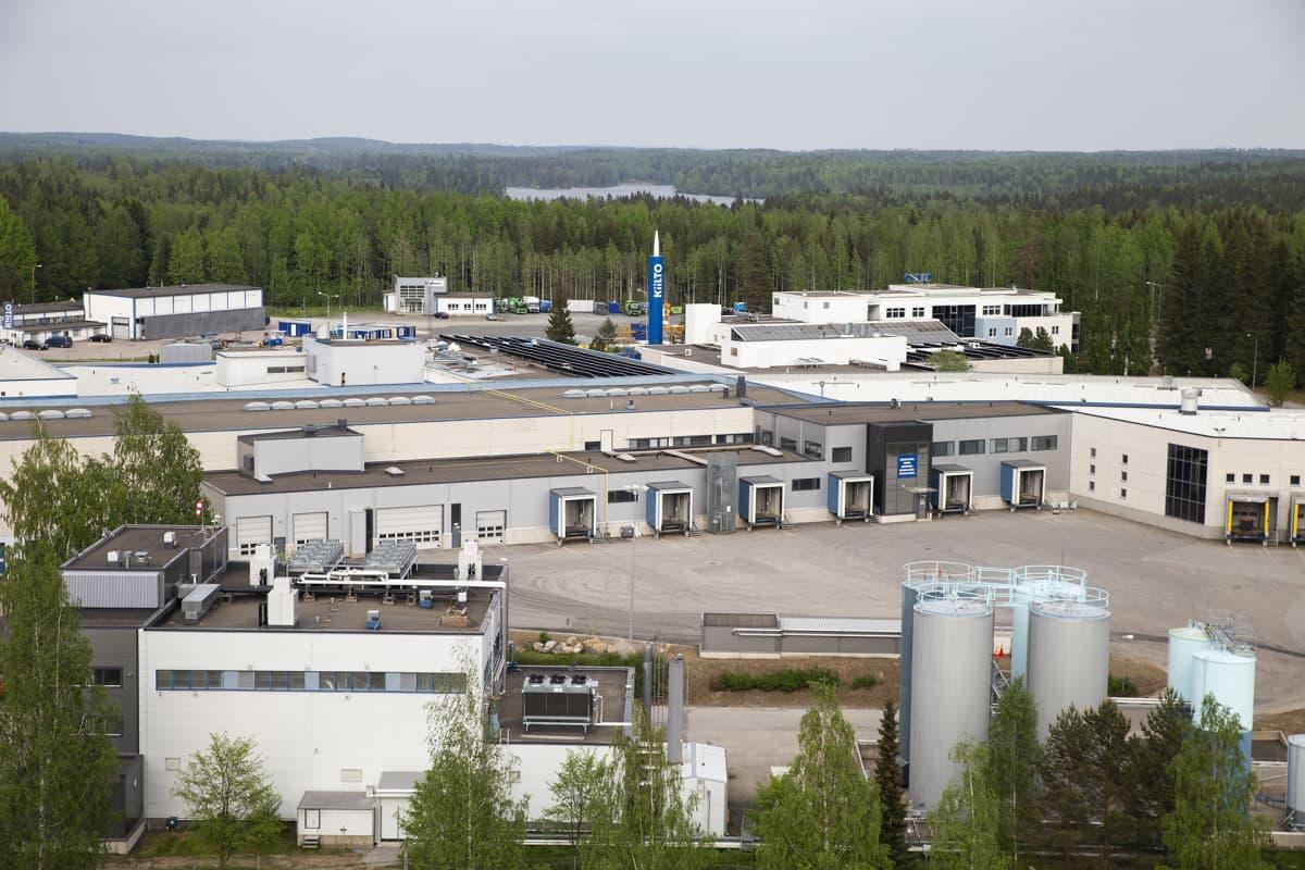 Kiilto Oy:n tehdas, Lempäälässä.