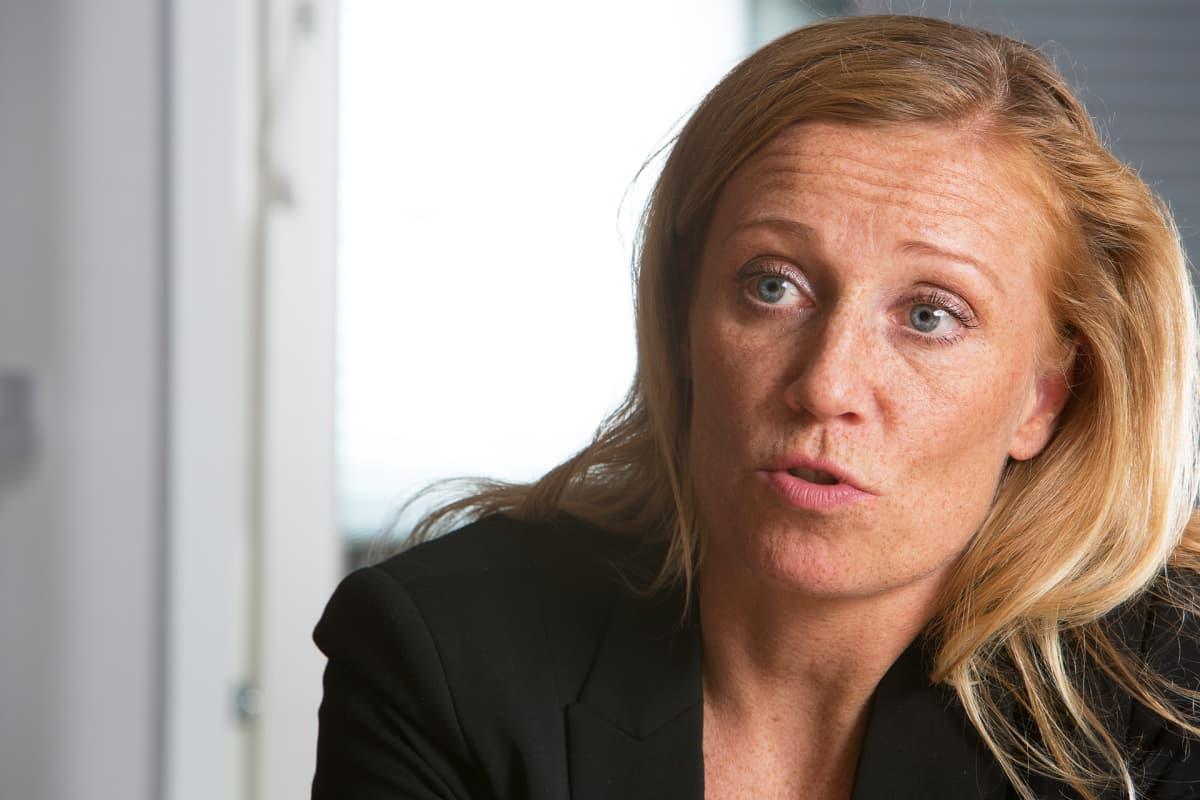 STTK:n edunvalvontajohtaja Katarina Murto